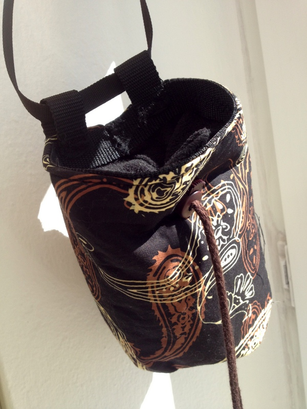 Chalk Bag Sewing Pattern - Nähmuster | wurzelkraut